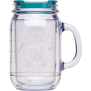 Classic Insulated Mason Jar Travel Mug | 16 oz