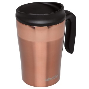 Coffee & Tea Mugs: Café Vacuum Insulated Desktop Mug | 12 oz