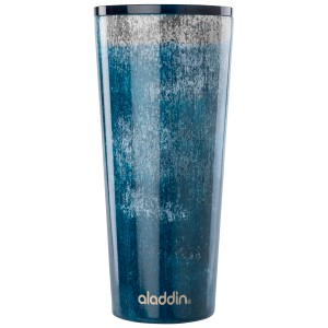 view all: Stainless Steel Vacuum Tumbler | Blue Erosion | 30 oz