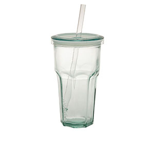 tumblers & cups: Recycled Glass To-Go Tumbler | 16 oz