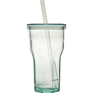 Recycled & Recyclable: Recycled Glass To-Go Tumbler | 16 oz
