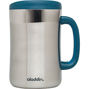 Insulated Stainless Steel Desktop Mug | 16 oz