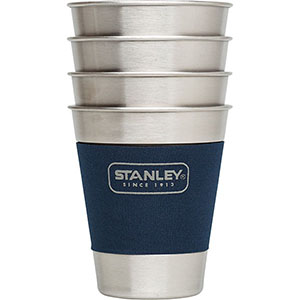 Beer - Growlers, Pints & Steins: Adventure Stacking Steel Tumbler Set | 12 oz (4 Pack)