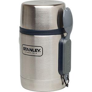 Adventure Vacuum Food Jar | 18 oz Steel Canister with Spork