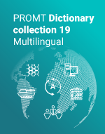 PROMT Dictionary collection 19 Multilingual