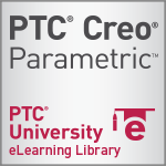 PTC Creo Parametric Student eLearning Library - 1 year