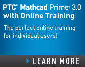 PTC Mathcad Prime 3.0 with PTC University Mathcad eLearning Library - USD1,730.00 - Order Now!