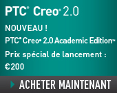 PTC Creo 2.0 Academic Edition - One Year Term License - 200,00EUR - Order Now!