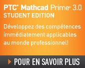PTC Mathcad Prime 3.0 Student Edition – Perpetual License - 105,00EUR - Order Now!