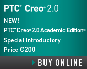 PTC Creo 2.0 Academic Edition - One Year Term License - 200.00 EUR - Order Now!