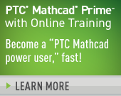 PTC Mathcad Prime 3.1 with PTC University Mathcad eLearning Library - 1,780.00 USD - Order Now!