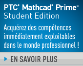 PTC Mathcad Prime 3.1 Édition Étudiant – One Year Term License - 56,00EUR - Order Now!