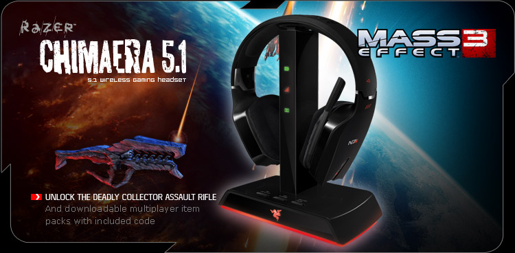 Mass Effect 3 Razer Chimaera 5.1