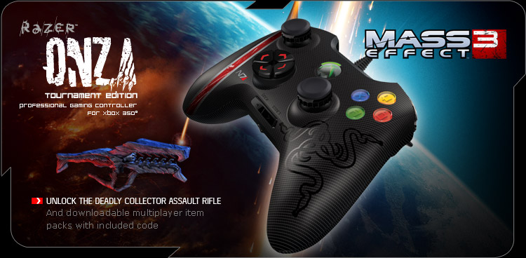 Mass Effect 3 Razer Onza Tournament Edition