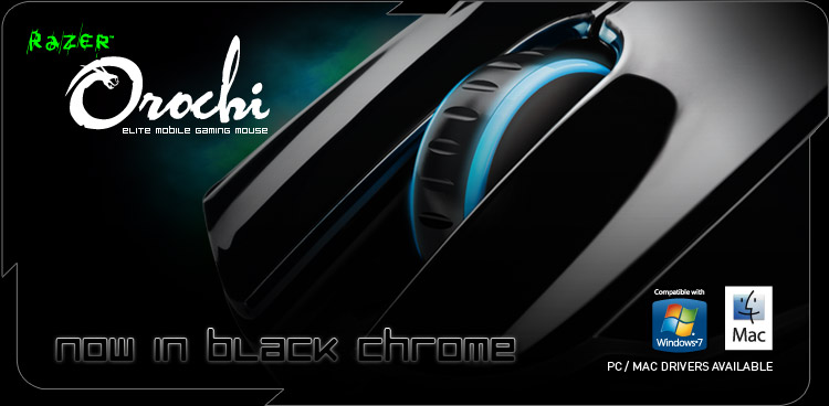 Razer Orochi Black Chrome