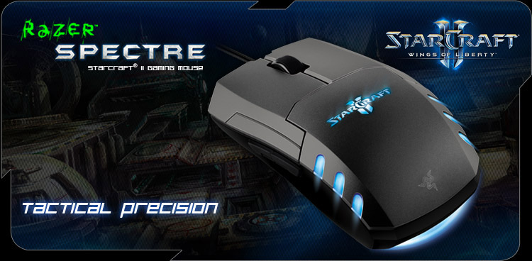 StarCraft® II Razer Spectre - Wings of Liberty (Blue)