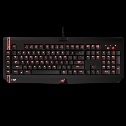 Mass Effect 3 Razer BlackWidow Ultimate