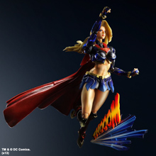 DC COMICS VARIANT PLAY ARTS KAI SUPERGIRL