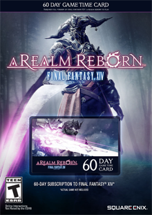 FINAL FANTASY® XIV: A Realm Reborn™ 60 Day Game Time Card