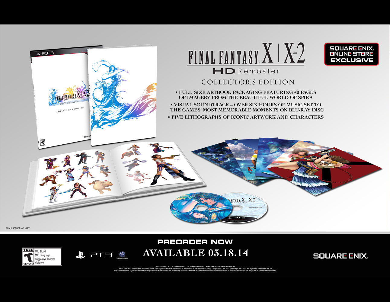 Final Fantasy X / X2 HD Collector's Edition [PS3]
