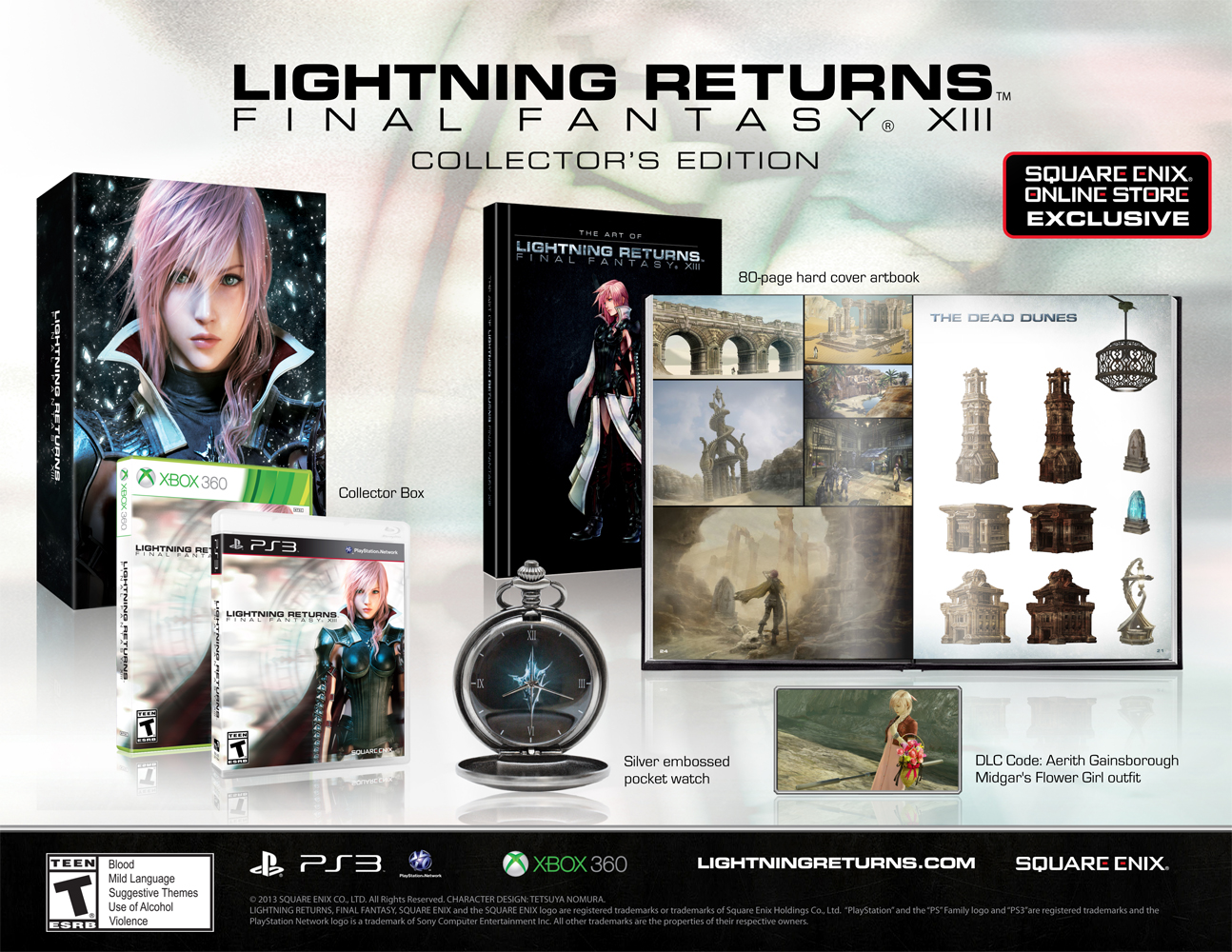 LIGHTNING RETURNS: FINAL FANTASY XIII COLLECTOR'S EDITION [XBOX]