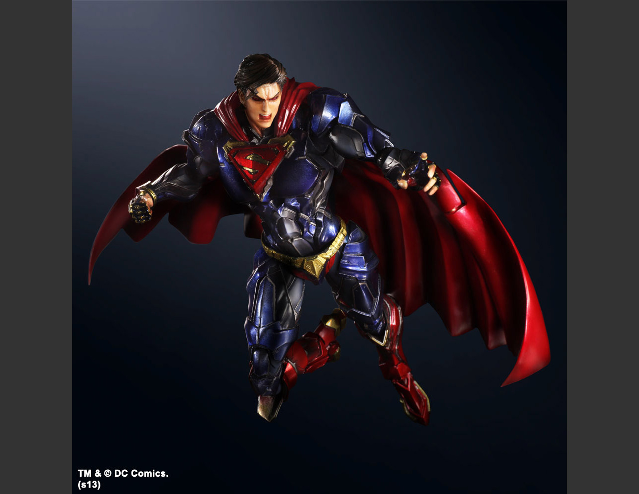 DC COMICS VARIANT PLAY ARTS KAI SUPERMAN