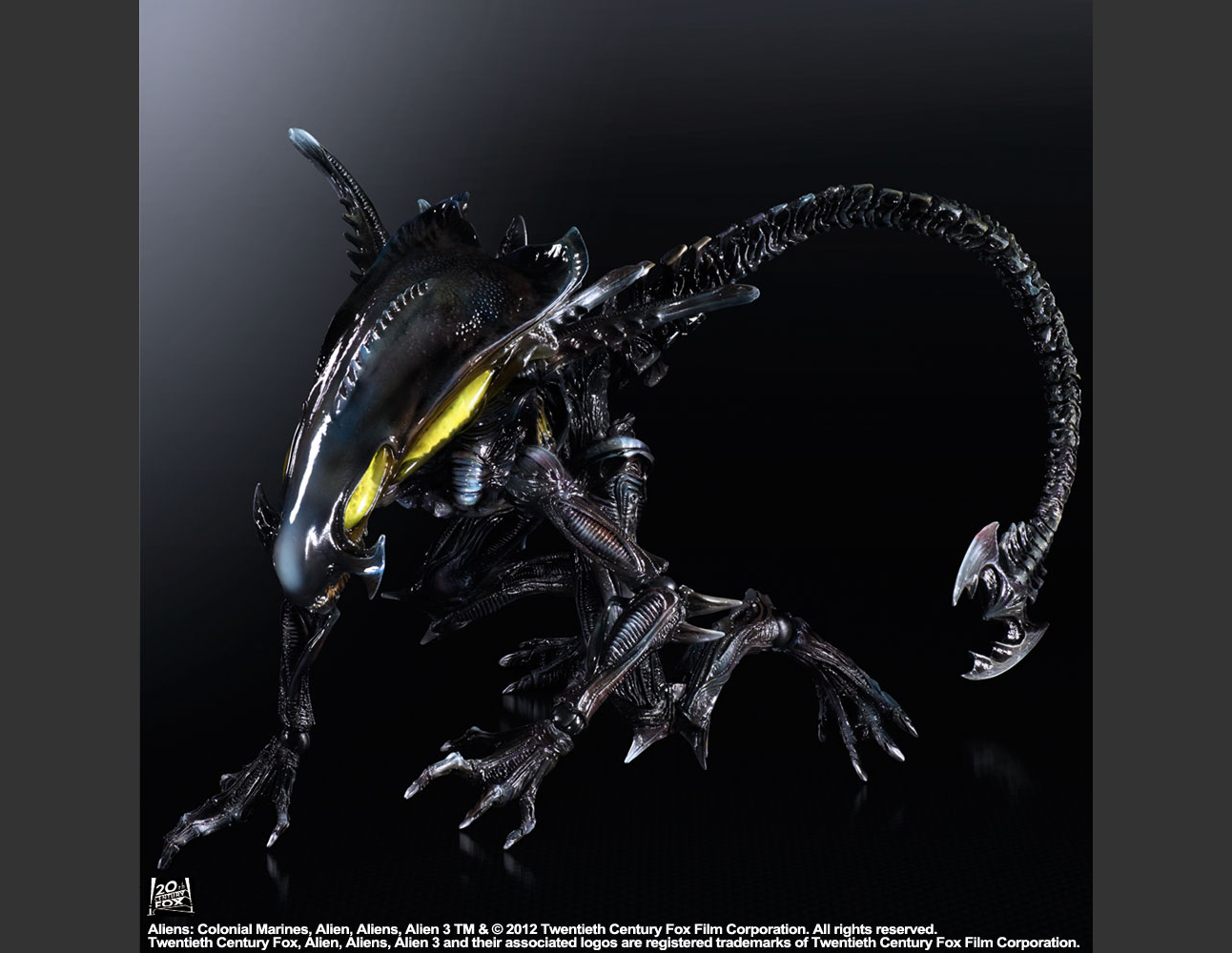 ALIENS  COLONIAL MARINES PLAY ARTS -KAI- SPITTERXenomorph Types Aliens Colonial Marines