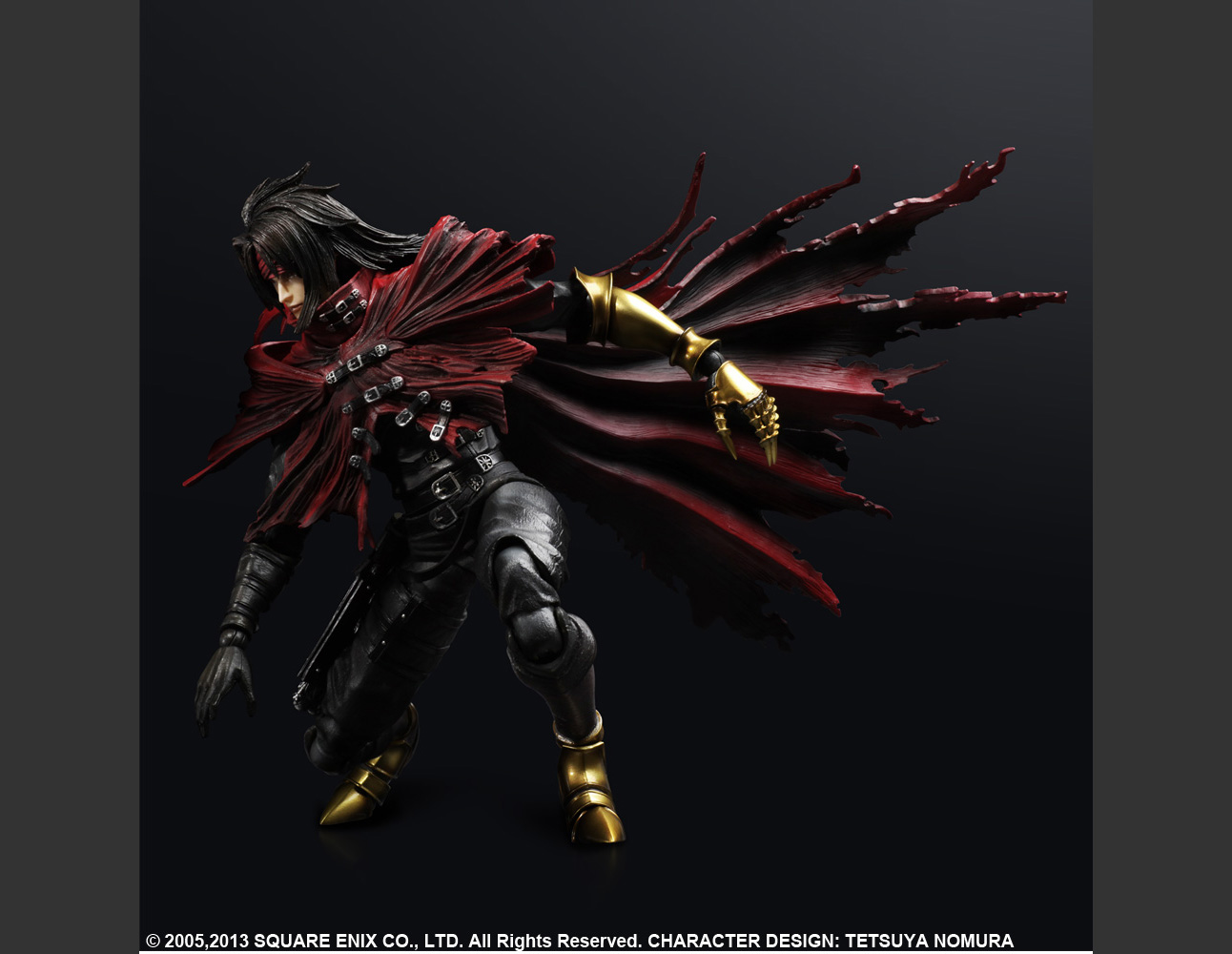 FINAL FANTASY VII: ADVENT CHILDREN PLAY ARTS -KAI- VINCENT VALENTINE