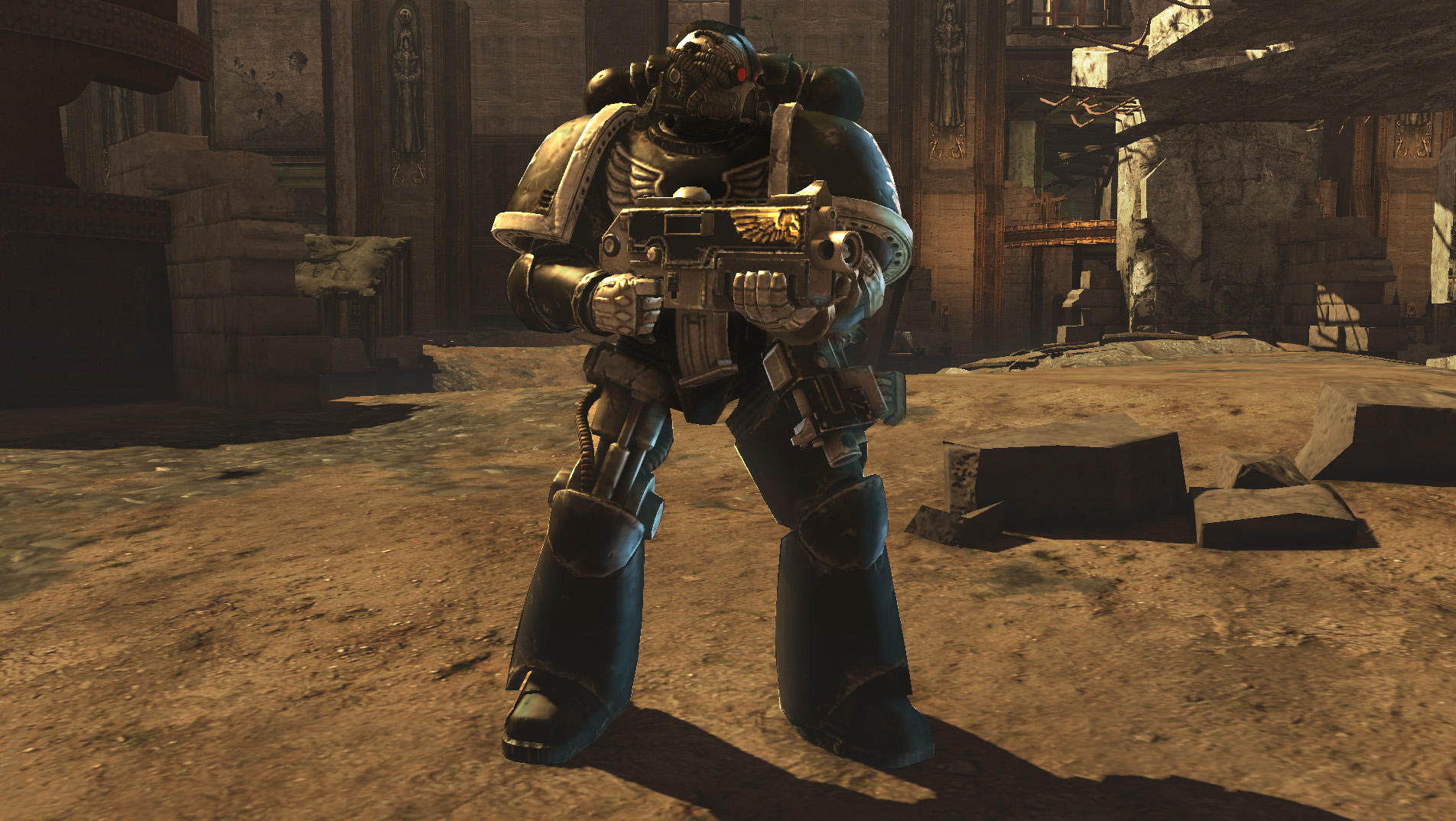 Warhammer® 40,000®: Space Marine® - Iron Hands Veteran Skin DLC