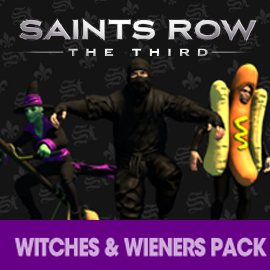 Saints Row: The Third Witches and Wieners Pack