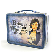Bioshock Infinite Elizabeth Lunch Tin