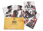 Mafia III Lithograph Set of 6