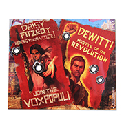 Bioshock Infinite Vox Revolution Tin Sign