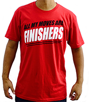 WWE 2K16 Finisher Shirt
