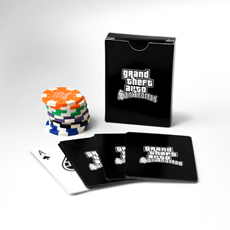 San Andreas Playing Cards & Poker Chips