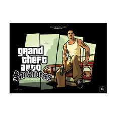 San Andreas Limited-Edition Cesar Lithograph