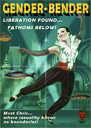 Burial at Sea – Gender-Bender Poster