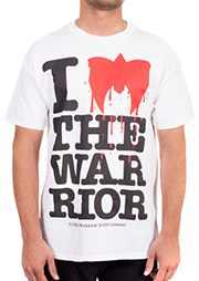 I Love the Ultimate Warrior T-shirt