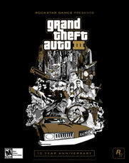 Grand Theft Auto III 10 Year Anniversary EU Box - Poster