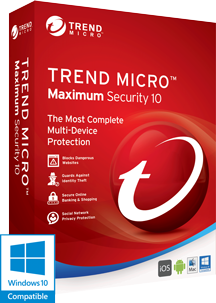 Trend Micro™ Maximum Security 10 PLUS Premium Service Plan