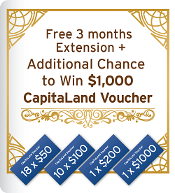 [Time Limited] 3 Months Extension & A Chance to Win in Lucky Draw