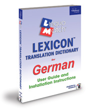 Lexicon German Dictionary