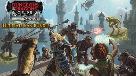 Dungeons & Dragons Online ®: Masterminds of Sharn™ - Ultimate Fan Bundle
