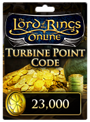 The Lord of the Rings Online™ 23,000 Turbine Point Code