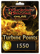 Dungeons & Dragons Online™ 1550 Turbine Point Code