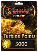 Dungeons & Dragons Online™ 5000 Turbine Point Code
