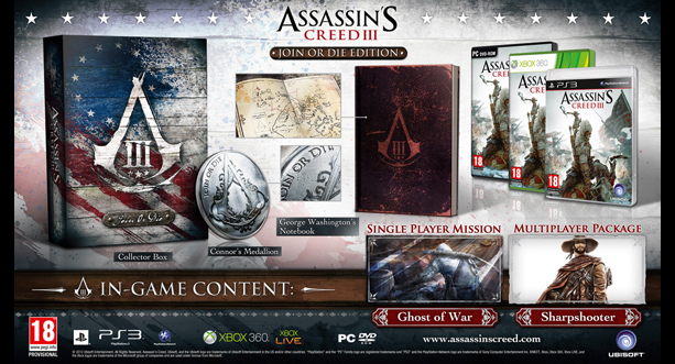 Assassins Creed III - Join or Die Edition