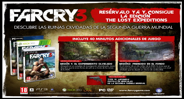 Far Cry 3 - The Lost Expeditions