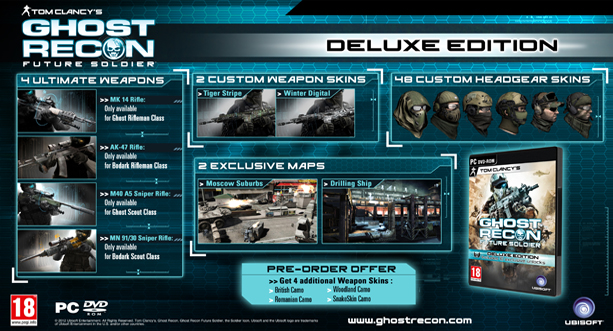 ghost recon future soldier online pc