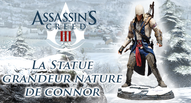 Statue de Connor Grandeur Nature